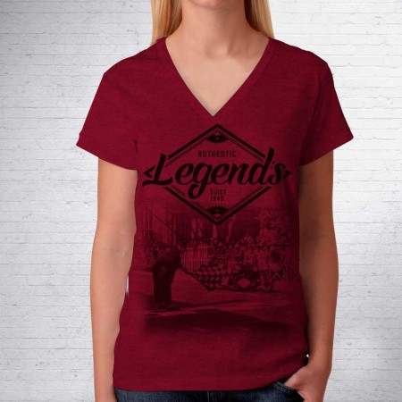 Camiseta MotoGP Legends Burgundi