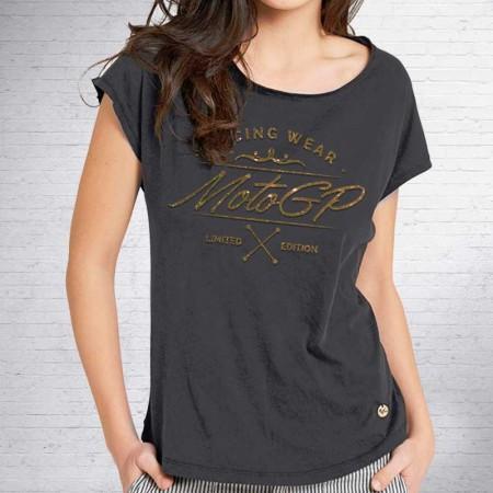 Camiseta de mujer MotoGP, Modelo Gold