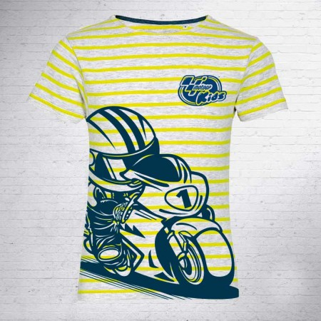 Camiseta niño, Yellow Lines Kids MotoGP