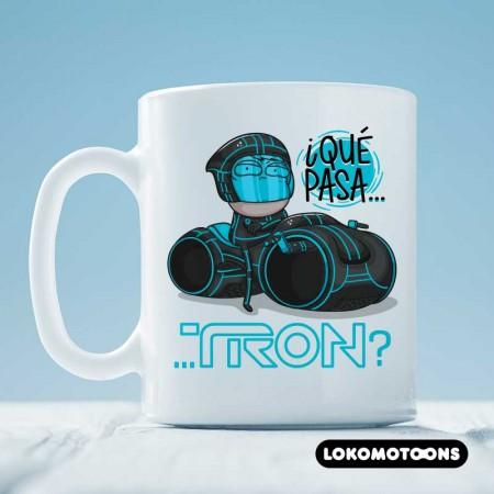 Taza 'Qué pasa Tron?'