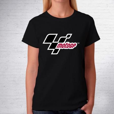Camiseta de mujer de manga corta con logo MotoGP
