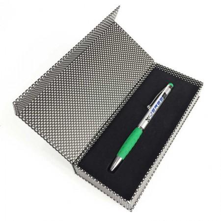 Bolígrafo con estuche caja