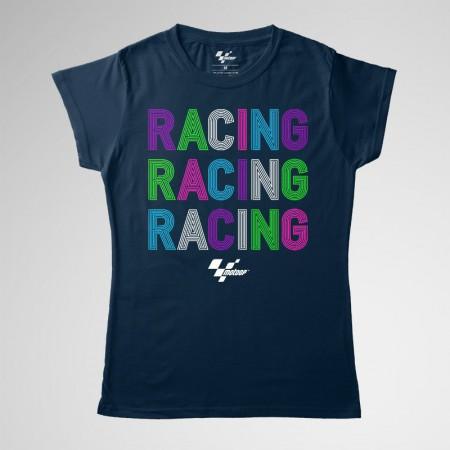 Racing Colors. T-shirt women MotoGP